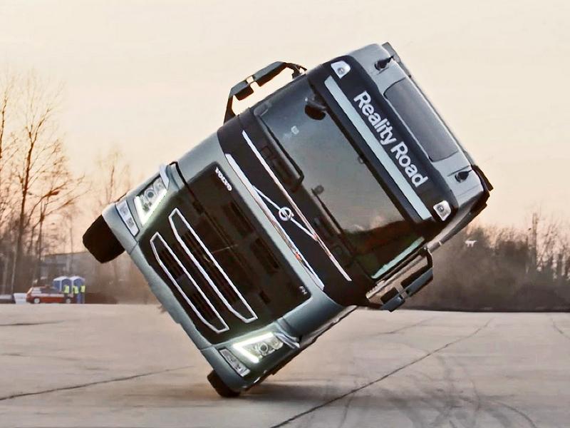 Photo of Volvo nyergesvontató két keréken