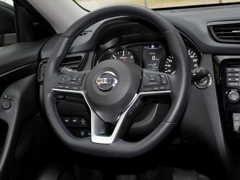 Nissan X-Trail belső