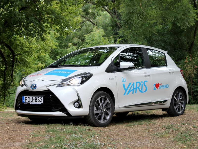 Photo of Toyota Yaris Hybrid teszt – takarékos ugrómókus